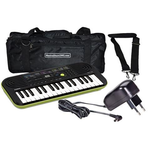 casio tastiere casio sa46 pack tastiera borsa alimentatore musical