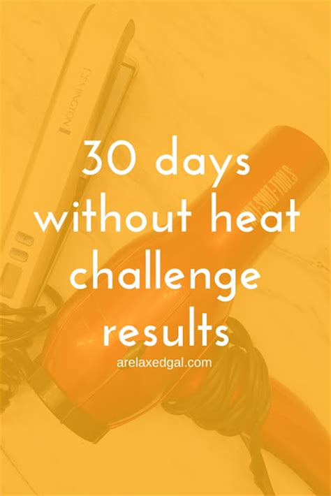no heat challenge relaxed hair 30 days without heat challenge results a relaxed gal