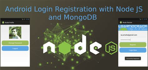 node js mongodb tutorial youtube android login registration system with node js and mongodb