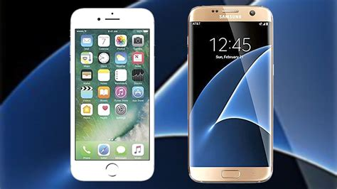 better phone samsung or iphone iphone 7 vs samsung galaxy s7 which is the better phone