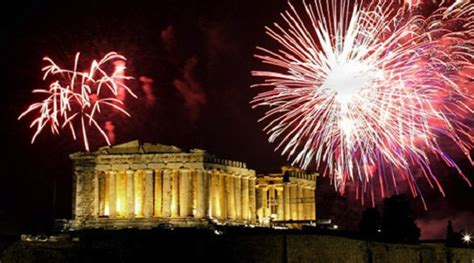 celebrate new years eve 2017 in greece