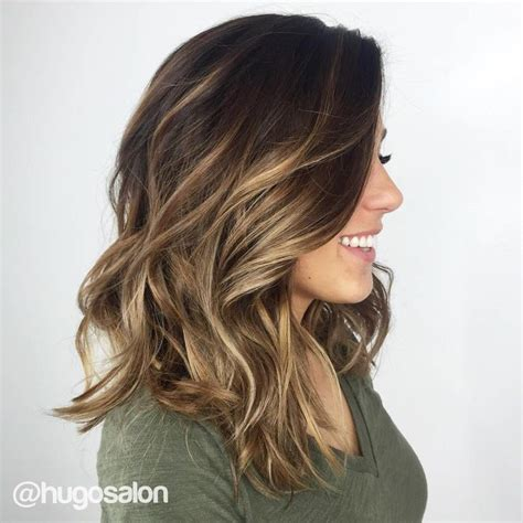 How To Balayage On Medium Length Hair | 25 best ideas about shoulder length balayage on pinterest