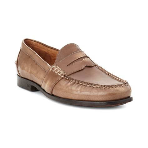 ralph mens loafers ralph arscott loafers ii in brown for