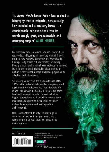 libro magic words the extraordinary life of alan moore di lance parkin