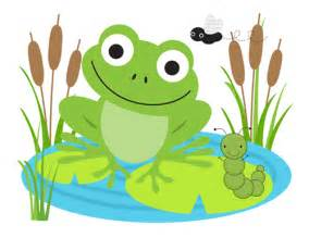 Frog mural wall decals baby boy girl nursery stickers decor 316