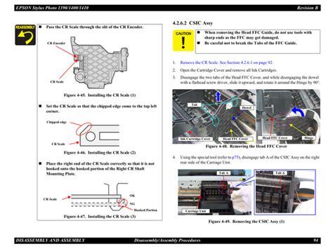reset epson 1390 manual epson stylusphoto 1390 1400 1410 service manual