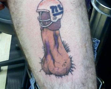 tattoo extreme number 13 of the worst nfl fan tattoos number 8 is ridiculous