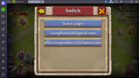 bluestacks change account how to change accounts in games on bluestacks