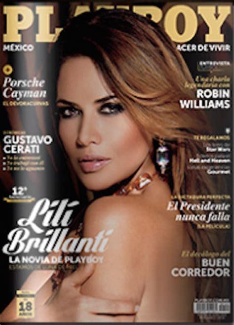 lil brillanti aparece desnuda en el playboy de octubre lili brillanti en revista playboy tv y espect 225 culos