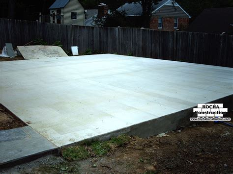 concrete for backyard concrete patios rocha construction silver spring md