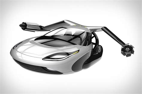 auto volante terrafugia tf x flying car uncrate