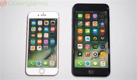 7 iphone size iphone 7 impressions ubergizmo
