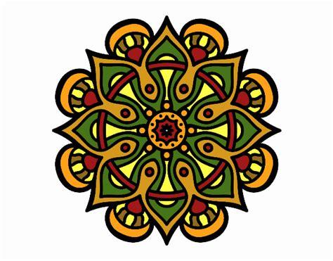 imagenes mandalas arabes dibujo de mandala mundo 225 rabe pintado por caulinarte en