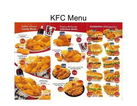 product layout of kfc 19080033 kentucky fried chicken kfc marketing mix four ps
