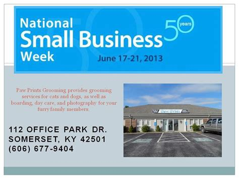 grooming ky small business week client focus paw prints grooming the small business development