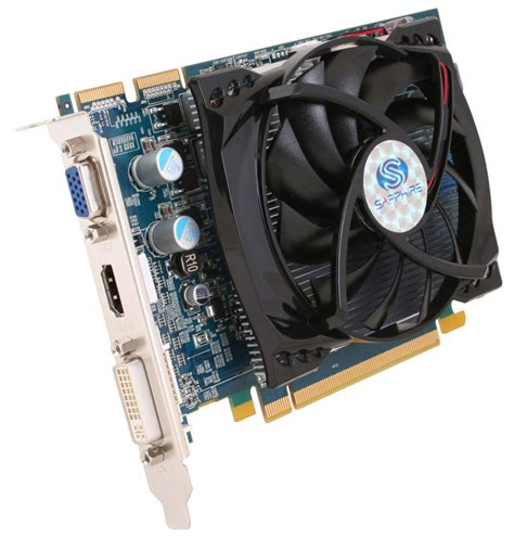 Vga Card Ati Radeon Hd 4600 gddr4 boosts sapphire hd 4670 performance bit tech net