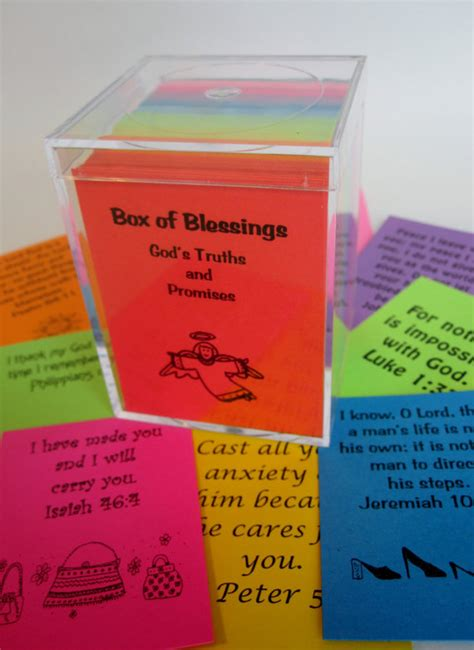 Wedding Post Box Verses by Box Of Blessings 200 Scripture Cards Bible Verse