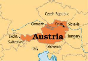 Austria On World Map by Austria Operation World