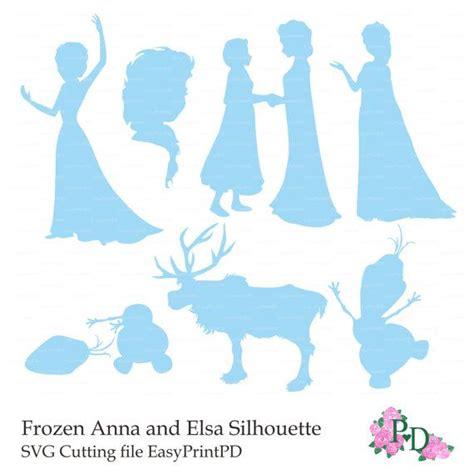 frozen svg files zeichentrickfilm pinterest plotten frozen svg dfx cutting file silhouette anna elsa olaf