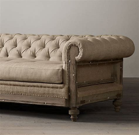 used restoration hardware sofa 52 best images about chesterfields on pinterest