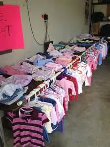 hanging clothes at garage sale garage sale easy way to