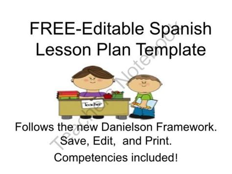 lesson plan template spanish spanish lesson plans spanish lessons and lesson plans on