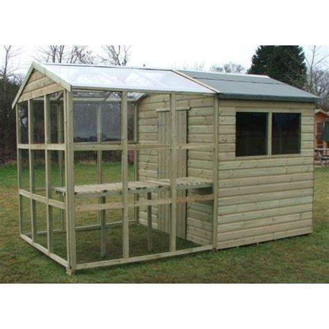 Greenhouse Garden Shed Combo by Greenhouse From A Shed Apex Greenhouse Potting Shed