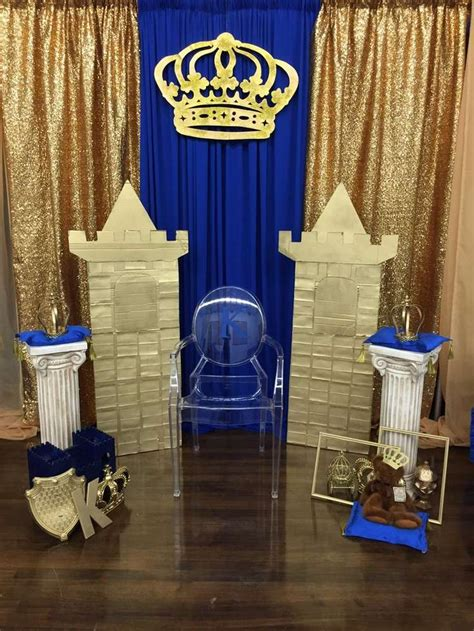 royalty themed decorations en iyi 17 g 246 r 252 nt 252 prince baby shower te bebek
