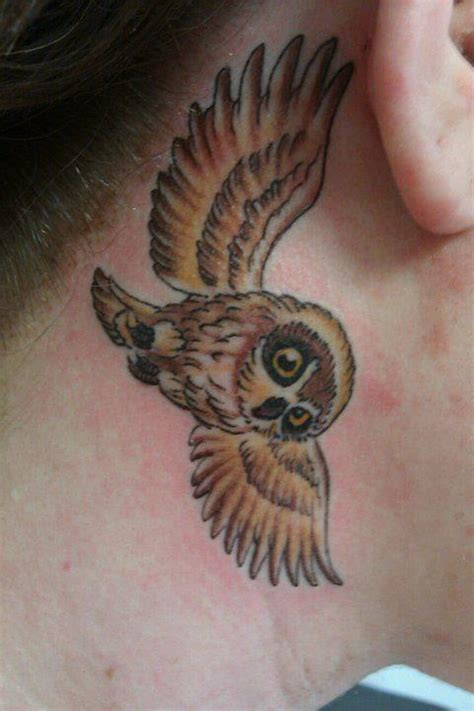 tattoo owl neck jeff norton tattoos tattoos custom small owl tattoo