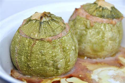 zucchine tonde come cucinarle zucchine tonde ripiene di carne bimby tm31 tm5