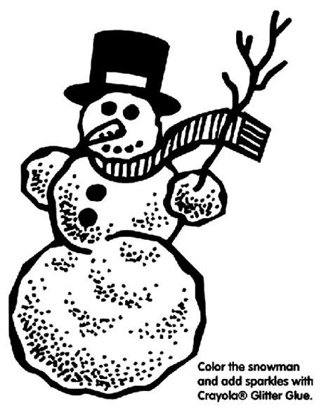 snowman coloring pages crayola snowman coloring page crayola com