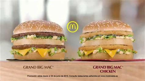 Mac Chicken el grand dilema grand big mac o grand big mac chicken
