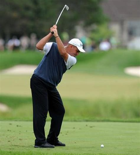 rocco mediate golf swing can i bend my elbow and still hit the ball well