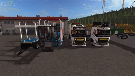 volvo fh  forest pack   fs mods