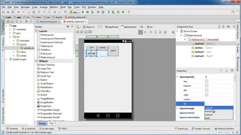 android gridlayout exle android app development for beginners 17 gridlayout