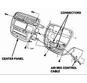 1997 Honda Civic Lx  How Do I Get The Temp Control