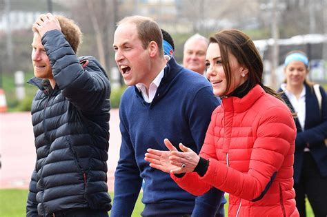 where do prince william and kate live kate middleton prince william and prince harry race for
