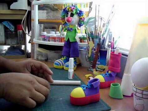 como hacer zapatos de payasos para fofucho payasito fofucho 1 youtube