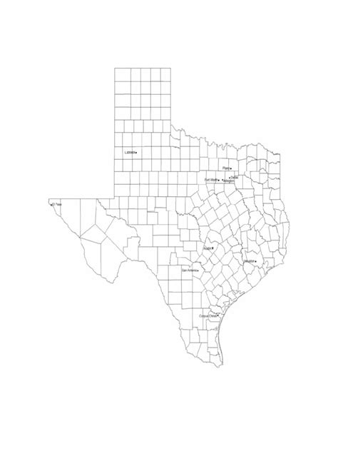 texas map with city names texas map template 8 free templates in pdf word excel