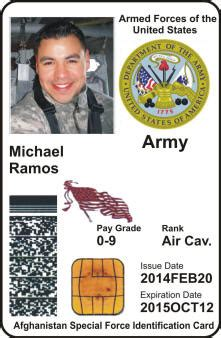 us army id card template pass and id search t c