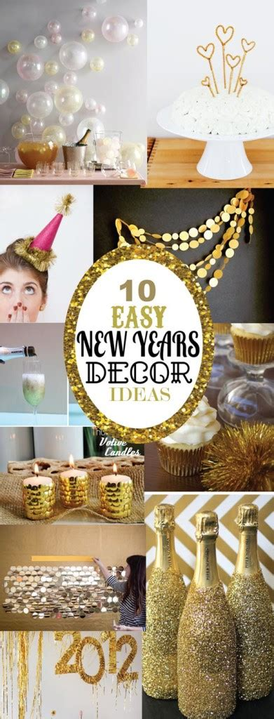 10 cozy decor ideas for your new year s eve dining room 10 easy new years decorating ideas sohosonnet creative