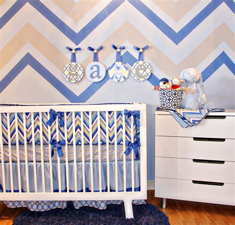 boy chevron crib bedding bedroom impressing modern crib bedding for boys for