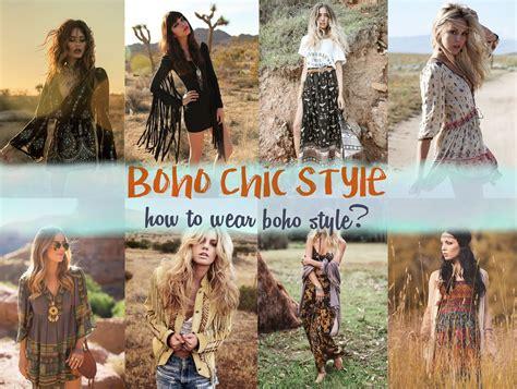 Boho Chic boho chic style how to style wear boho