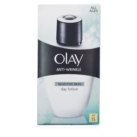 Olay Day Lotion olay anti wrinkle sensitive day lotion chemist direct