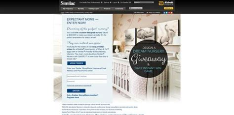 Www Similac Com Giveaway - similac design a dream nursery giveaway