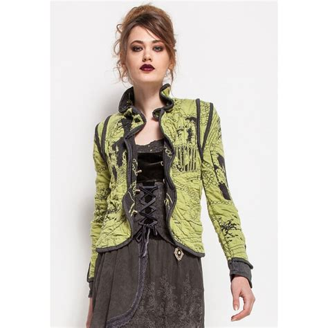 elisa cavaletti green and grey jacket wd60401 buy elisa