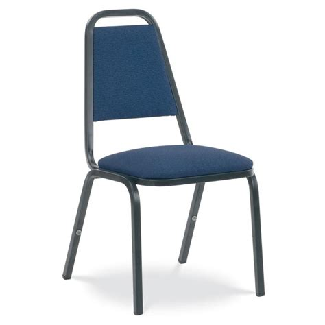 Stack Chair by Virco 8926 Padded Stack Chair With Square Back Fabric