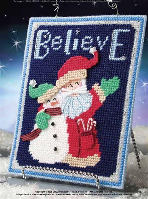 581 best plastic canvas christmas images on pinterest