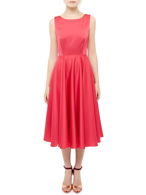 To Bare With These Ted Baker Pieces by Lyst Ted Baker Lyxa Cut Out Midi Dress
