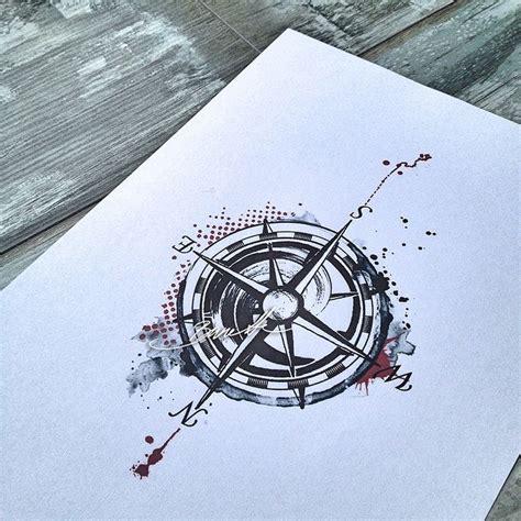 bunette photo compass pinterest tattoo compass